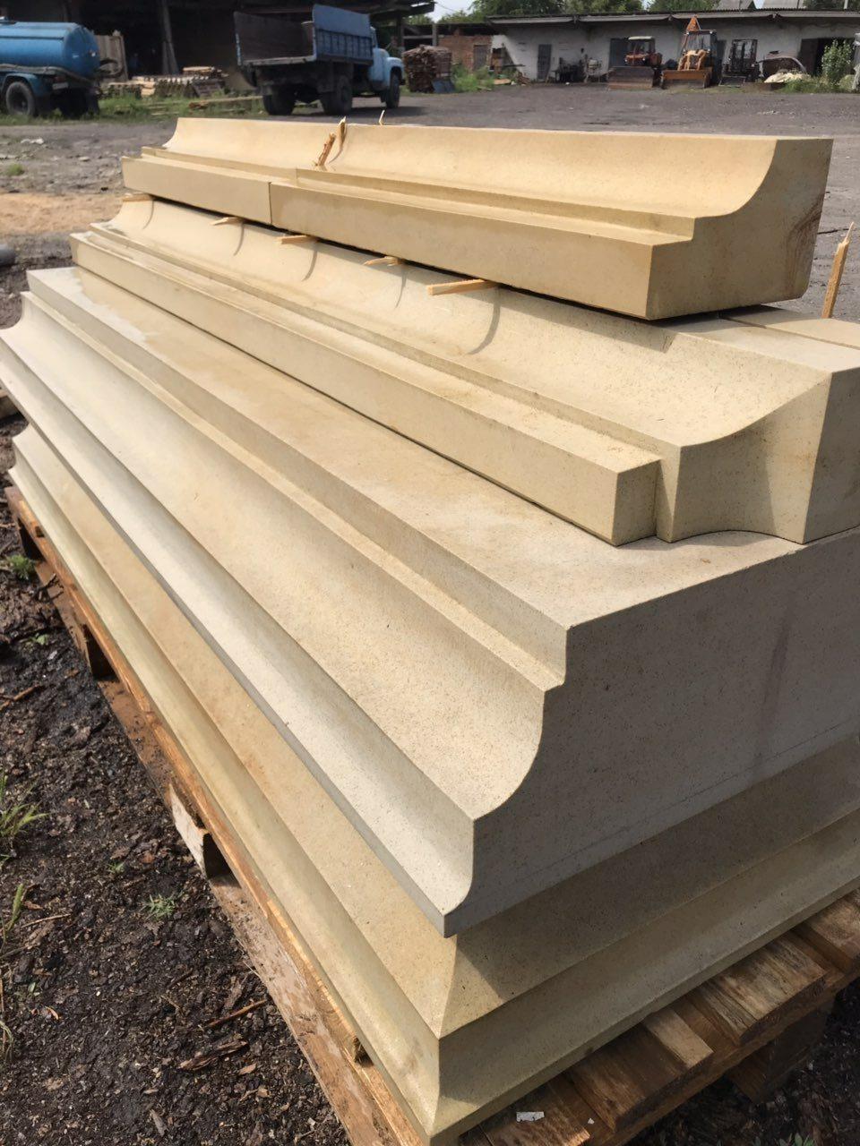 Песчаник (плитка, брусчатка, камины, скульптуры, колоны)