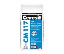 Клеюча суміш Ceresit CM 117 Flex 5 кг (1594940)
