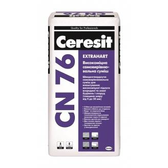 Самовирівнювальна суміш Ceresit CN 76 extrahart 25 кг
