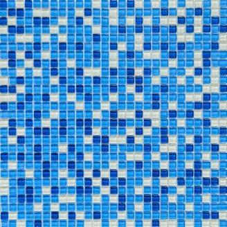 Мозаїка скляна VIVACER MixL 01 30x30 см