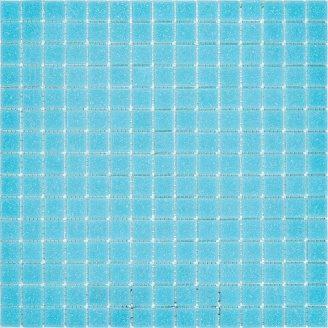 Мозаїка, скляна, Stella di Mare R-MOS B33 327х327 мм блакитна на сітці