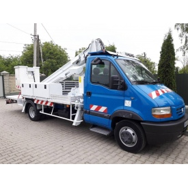 Оренда автовишки Renault Mascott 18 м телескоп