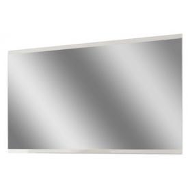 зеркало 100 Бьянко белый глянец + дуб сонома Мир Мебели