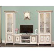 гостиная комплект №1 Парма прованс белый Мир Мебели