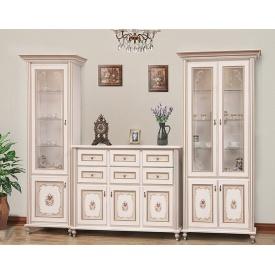 гостиная комплект №2 Парма прованс белый Мир Мебели