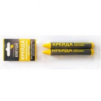 Крейда маркувальний KREYDA жовтий 2 шт