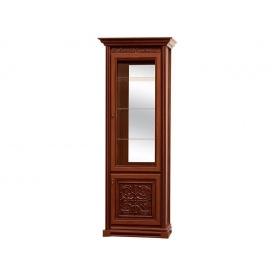 витрина 1Д Лацио прованс темный Мир Мебели