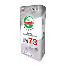 Самовыравнивающаяся смесь Anserglob LFS-73 цементно-гипсовая 5-80 мм 23 кг