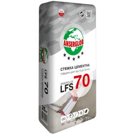 Стяжка цементная Anserglob LFS-70 10-60 мм 25 кг