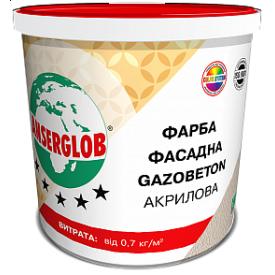 Краска фасадная Anserglob Gazobeton акриловая 14 кг