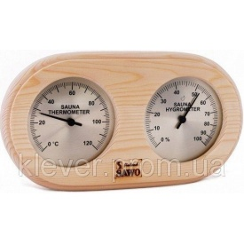 Термо-гигрометр круглый Sawo 222 Т-Н