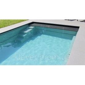Установка керамокомпозитного бассейна Compass Ceramic Pools XL-LOUNGER под ключ