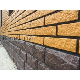 Фасадная плитка Rocky Фагот колотый 20х450х650 мм