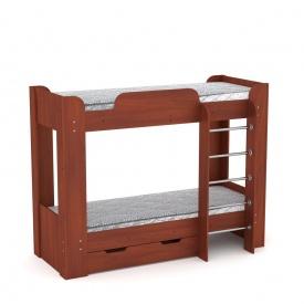 Двох'ярусне ліжко Компанит Твікс-2 77х152х210 яблуня
