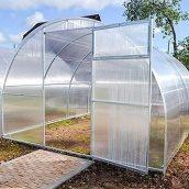 Теплиця Садовод Еліт 300х1000х200см + стільниковий полікарбонат 4 мм