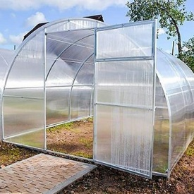 Теплица Садовод Элит 300х1000х200см + сотовый поликарбонат 4 мм