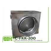 Вентиляційний фільтр для круглих каналів C-FKK-200