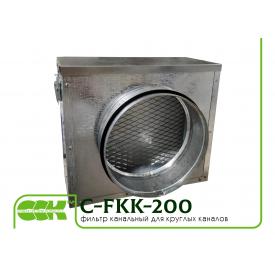 Вентиляционный фильтр для круглых каналов C-FKK-200