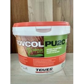 Поліуретановий паркетний двокомпонентний клей TOVCOL PU 2C 10 кг