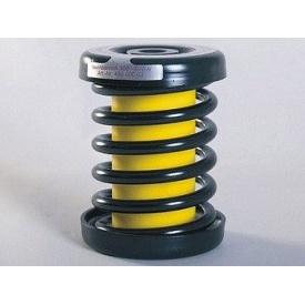 Сталева виброизоляционная пружина з демпфером Isotop DSD 6-KTL