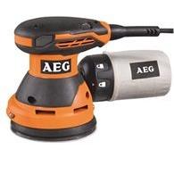 Ексцентрикова шліфувальна машина AEG ЕХ 125 ES