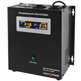 Источник бесперебойного питания ИБП Logicpower LPY- W - PSW-2000VA+ 1400Вт 10A/20A 24В
