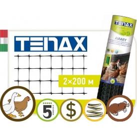 Сетка пластиковая от кротов Tenax Aviary 1х200 м