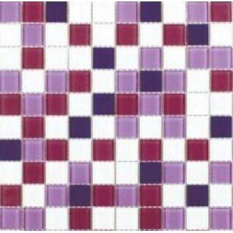 Скляна мозаїка Керамік Полісся Віола мікс 2 300х300х4 мм
