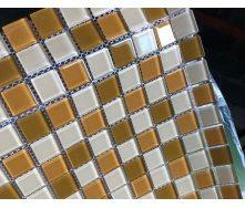 Мозаїка VIVACER мікс прозоре скло 2,5х2,5 CMmix01R 30х30 см
