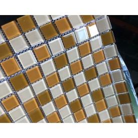 Мозаика VIVACER микс прозрачное стекло 2,5х2,5 CMmix01R 30х30 cм