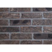 Кирпич ручной формовки Екатеринославский кирпич Графит 250х120х65 мм поверхностного окрашивания