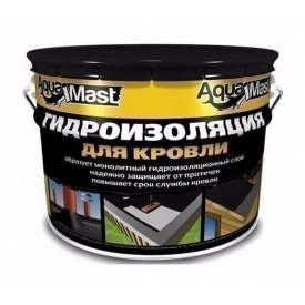 Мастика ТехноНІКОЛЬ AquaMast бітумно-гумова УКР 10 кг