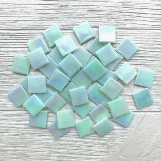 Скляна мозаїка Eco-Mosaic 20х20 мм 33х33 см світло-оливковий (IA422)