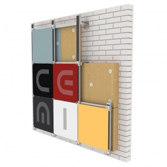 Фиброцементная панель Cemi Color ST standart