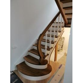 Изготовление лестницы из ясеня