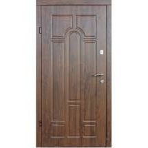 Двери входные Redfort АРКА улица Оптима плюс дуб бронзовый ПВХ-02 860х2040 мм