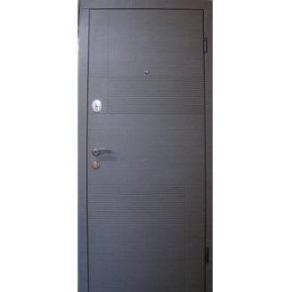 Двери входные Redfort КАЛИФОРНИЯ Оптима плюс венге серый горизонт 860х2040 мм