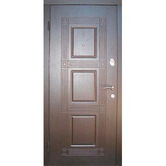 Двери входные Redfort КВАДРО Оптима плюс венге 860х2040 мм