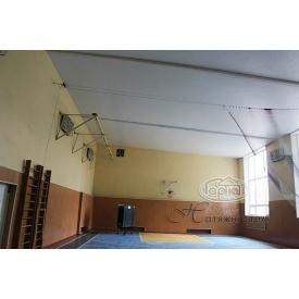 Установка натяжных потолков в школах