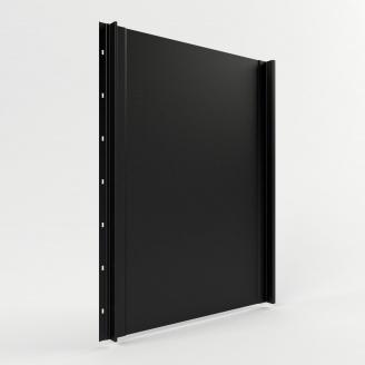 Фальцева покрівля Тайл Класика поліестер матовий 0,45 мм  500/540 мм RAL 9005