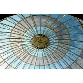 Скляний купол системи Аluprof MB-SR 50
