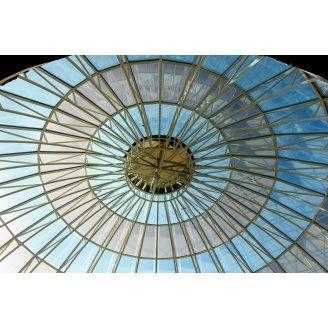 стеклянный купол системы Аluprof MB-SR 50