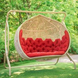 Кресло яйцо подвесное Дабл Гранд