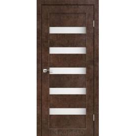 Дверное полотно Korfad PORTO PR-03 арт бетон сатин белый 700 х2000 мм Sincrolam