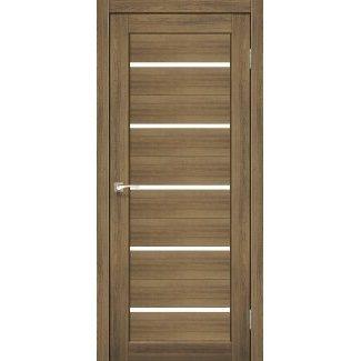 Дверное полотно Korfad PORTO PR-02 дуб браш сатин белый 700х2000 мм Sincrolam