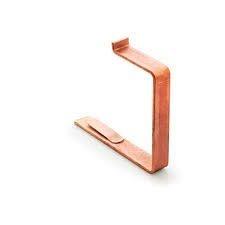 Крюк квадратный короткий к лобовой доске Gromo 280 100