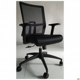 Офисное кресло AMF Fix Black 1080х660х600 мм сетка-черное