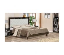Кровать Мебель-Сервис Ева 204х172х120 см венге темная