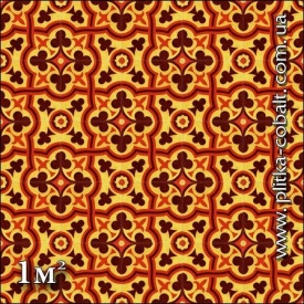 Декоративна плитка ручної роботи BYZANTIUM COLOR