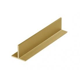 Sevroll Профиль T золото 3000 мм